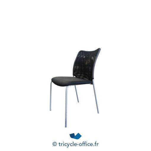 Tricycle Office Mobilier Bureau Occasion Chaise Visiteur Noir Profim (5)