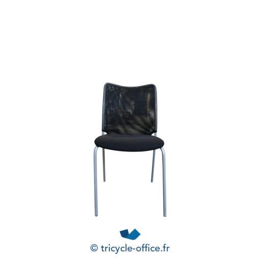 Tricycle Office Mobilier Bureau Occasion Chaise Visiteur Noir Profim (7)