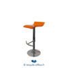 Tricycle Office Mobilier Bureau Occasion Tabouret Haut Assise Orange (3)