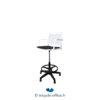Tricycle Office Mobilier Bureau Occasion Chaise Haute Blanche Pivotante (4)