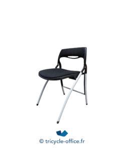 Tricycle Office Mobilier Bureau Occasion Chaises Pliantes Confortables Noir(3)
