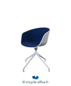 Tricycle Office Mobilier Bureau Occasion Chaises Visiteur Hay Aac20 Bleu (2)
