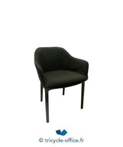 Tricycle Office Mobilier Bureau Occasion Chaises Visiteur Softshell Chair Vitra Noir (2)