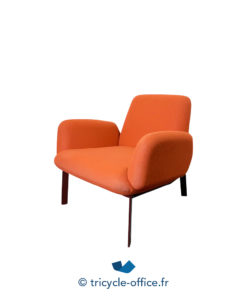 Tricycle Office Mobilier Bureau Occasion Chauffeuse Orange Easy (2)
