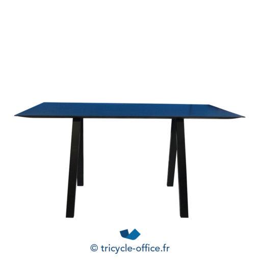 Tricycle Office Mobilier Bureau Occasion Grande Table Haute Noir (1)