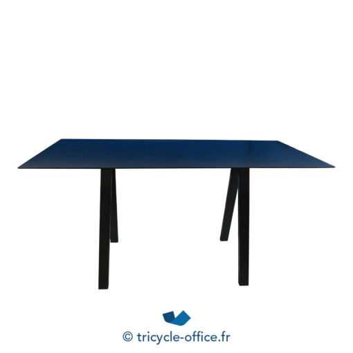 Tricycle Office Mobilier Bureau Occasion Grande Table Haute Noir (2)