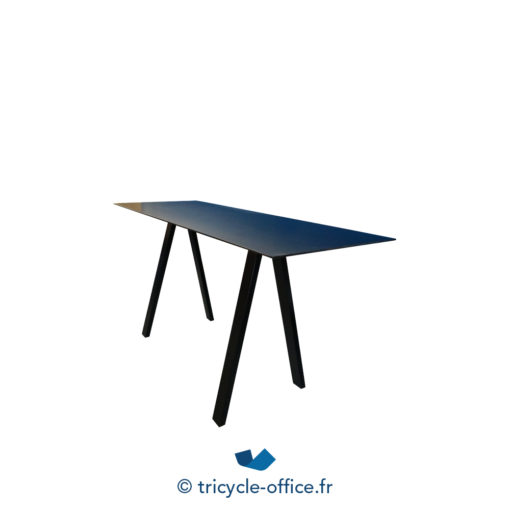 Tricycle Office Mobilier Bureau Occasion Grande Table Haute Noir (3)