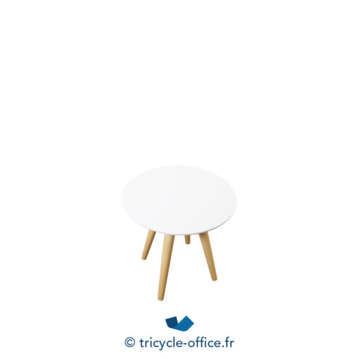 Tricycle Office Mobilier Bureau Occasion Table Basse Trepieds Bois (3)