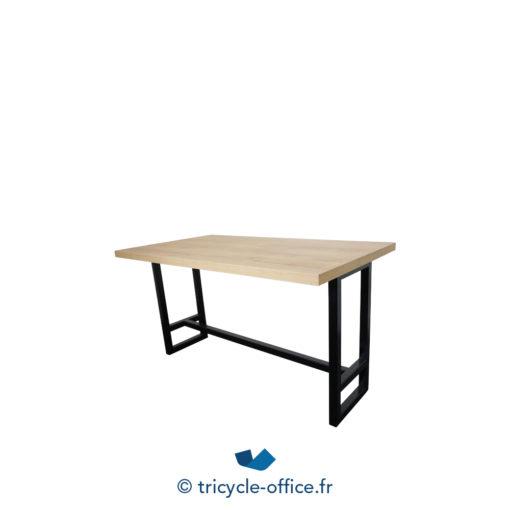 Tricycle Office Mobilier Bureau Occasion Table De Restauration Bois Et Noir (1)