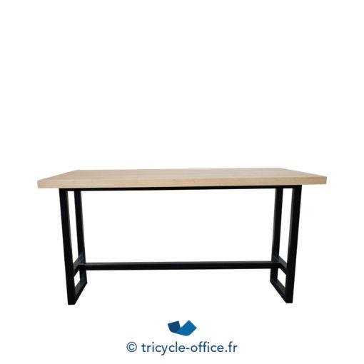 Tricycle Office Mobilier Bureau Occasion Table De Restauration Bois Et Noir (2)