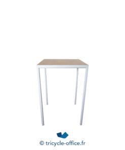 Tricycle Office Mobilier Bureau Occasion Table Haute Blanche Bois Inclass (3)