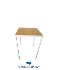 Tricycle Office Mobilier Bureau Occasion Table Haute Blanche Bois Inclass (4)