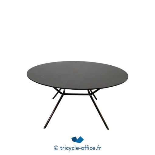 Tricycle Office Mobilier Bureau Occasion Tables Basses Noires Piètement Design (3)