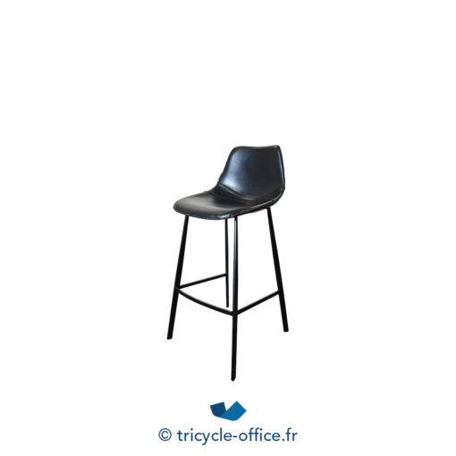 Tricycle Office Mobilier Bureau Occasion Tabouret Haut Cuir Synthetique Dutchbone (3)