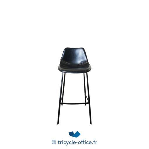 Tricycle Office Mobilier Bureau Occasion Tabouret Haut Cuir Synthetique Dutchbone (6)