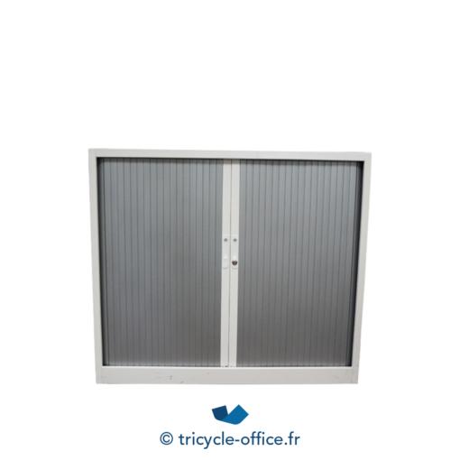 Tricycle Office Mobilier Bureau Occasion Armoire Basse Grise Et Blanche (3)
