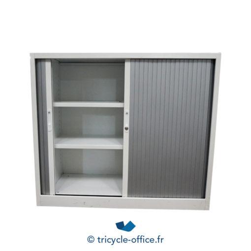 Tricycle Office Mobilier Bureau Occasion Armoire Basse Grise Et Blanche (2)