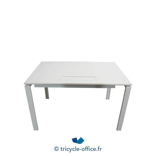 Tricycle Office Mobilier Bureau Occasion Bureau Droit Blanc 120 Cm (1)