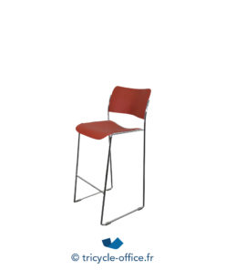 Tricycle Office Mobilier Bureau Occasion Chaise Haute Howe Rouge (2)