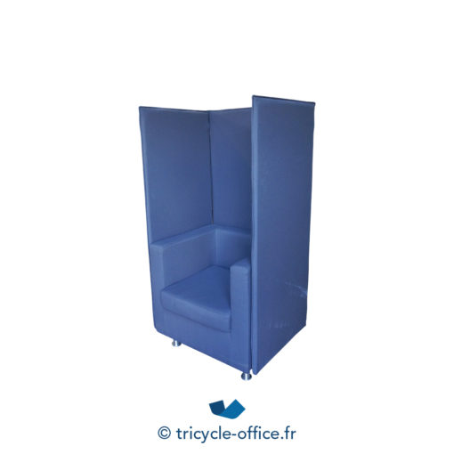 Tricycle Office Mobilier Bureau Occasion Chauffeuse Phonique Taupe (4)