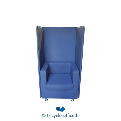 Tricycle Office Mobilier Bureau Occasion Chauffeuse Phonique Taupe (5)