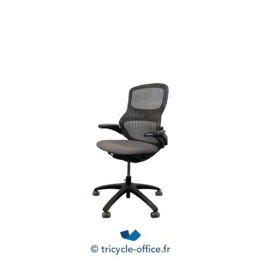 Tricycle Office Mobilier Bureau Occasion Fauteuil De Bureau Ergonomique Knoll Generation Gris (2)
