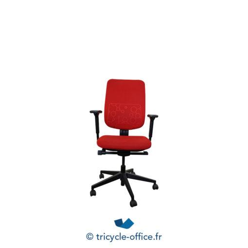 Tricycle Office Mobilier Bureau Occasion Fauteuil De Bureau Reply Steelcase Rouge (2)