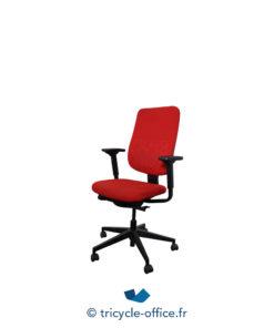 Tricycle Office Mobilier Bureau Occasion Fauteuil De Bureau Reply Steelcase Rouge (3)