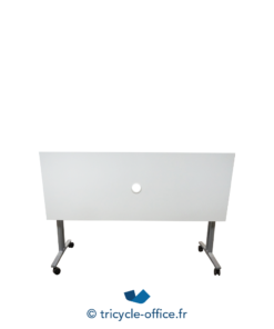 Tricycle Office Mobilier Bureau Occasion Table Basculante Blanche 160 Cm (1)