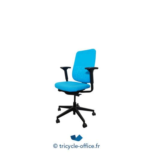 Tricycle Office Mobilier Bureau Occasion Fauteuil De Bureau Reply Steelcase Bleu Ciel (2)