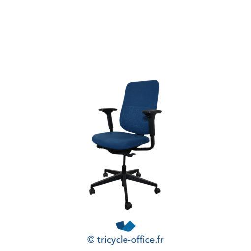 Tricycle Office Mobilier Bureau Occasion Fauteuil De Bureau Reply Steelcase Bleu Marine (3)