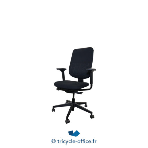 Tricycle Office Mobilier Bureau Occasion Fauteuil De Bureau Reply Steelcase Noir (1)