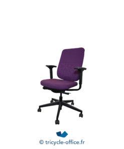 Tricycle Office Mobilier Bureau Occasion Fauteuil De Bureau Reply Steelcase Violet (2)